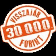 Visszajár 30.000 forint